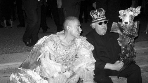 Gerry Keszler and Hairdresser Erich Joham