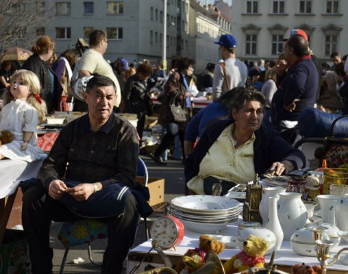 Flea Market at Naschmarkt, photos © Amélie Heuls, 2012