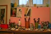 Table in the studio