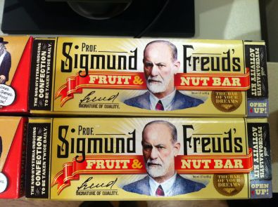 Sigmund Freud Nut Bar to buy in Jewish Museum's shop