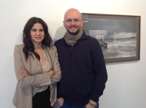 Sinem Yörük (left) and Metehan Özcan (right)