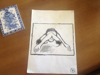 Drawing by Giorgi Xaniashvili