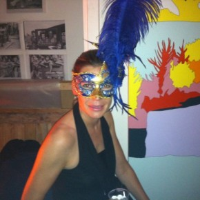 Party: Costume Ball at Lisa Ruyter's Studio Yesterday