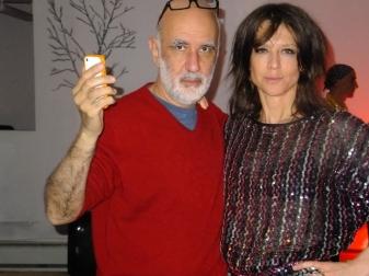 Photographer Lucien Samaha and artist Nin Brudermann