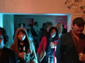 Williamsburg party folk