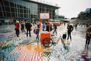 Photokina 2012: Lomography at Cologne's Main Train Station