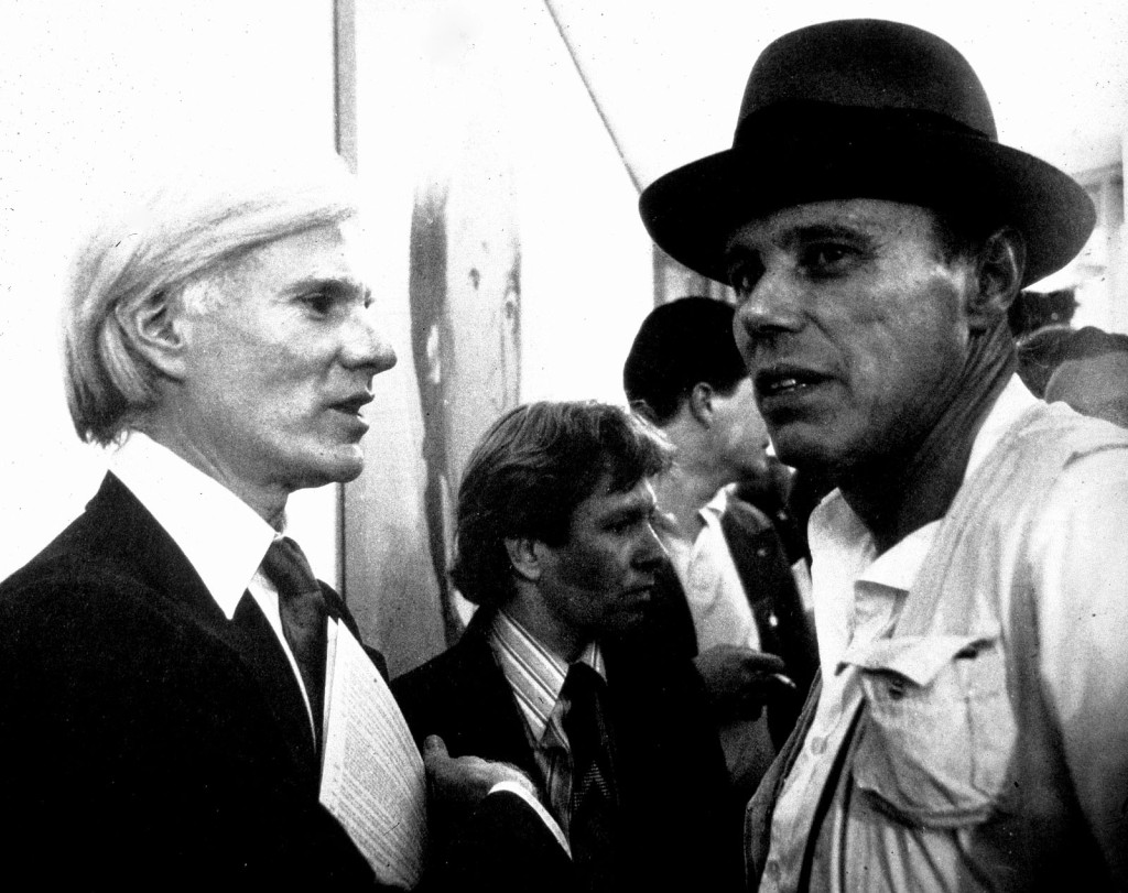 Andy Warhol and Joseph Beuys