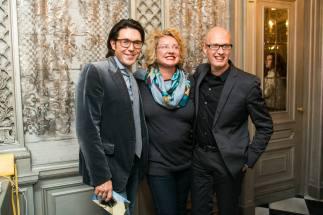 Andrei Malakhov, Regina von Flemming and Vadim Wernick