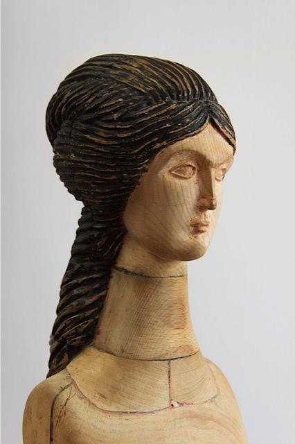 Giorgi Khaniashvili Venus, 2010 Wood, paint 120 x 30 x 40 cm detail