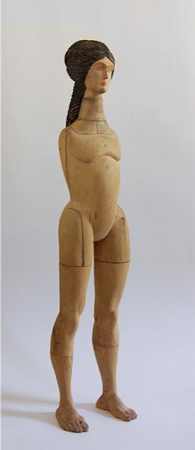 Giorgi Khaniashvili Venus, 2010 Wood, paint 120 x 30 x 40 cm