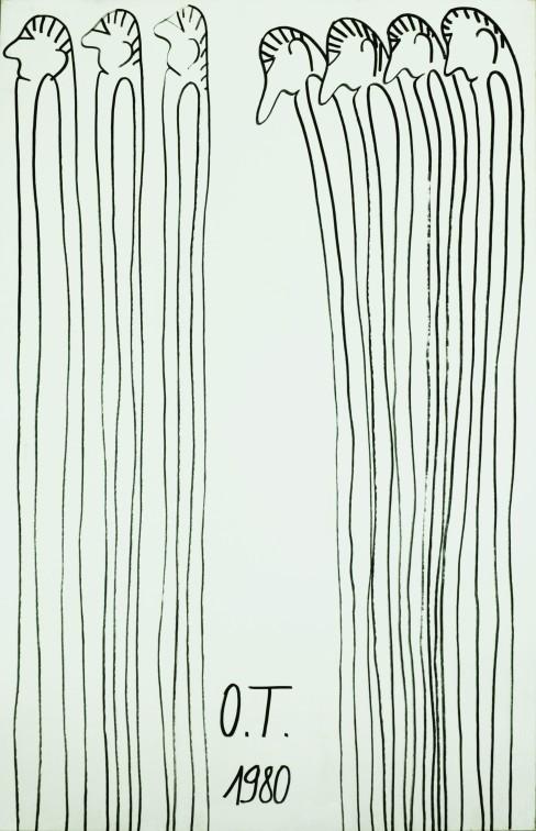 Oswald Tschirtner, Menschen, 1980