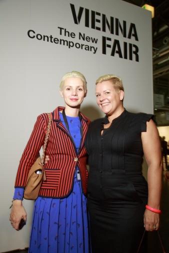 Christina Steinbrecher-Pfandt and Sandra Vermuyten