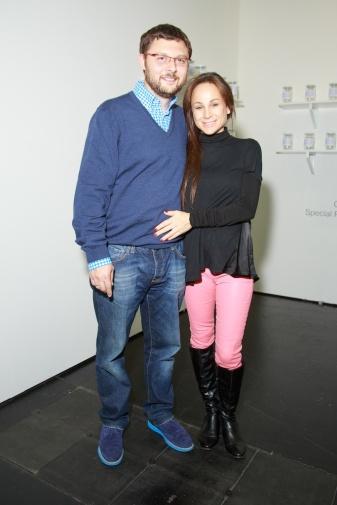 Vassily Tsereteli (MMOMA) and his spouse