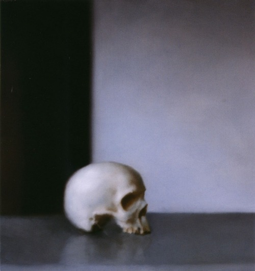 Gerhard Richter, Schädel( Skull) 1983.