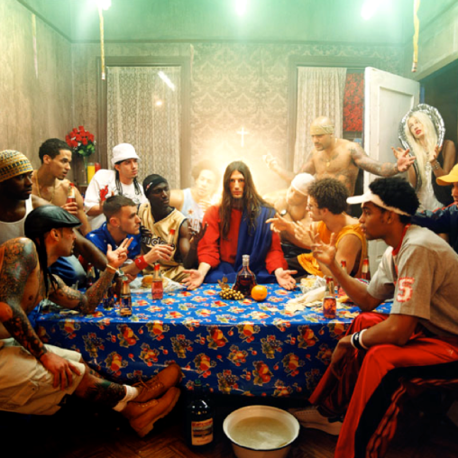 "David LaChapelle, ""The last Supper"""