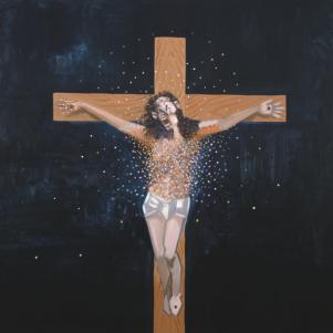 "George Condo, ""Jesus"""