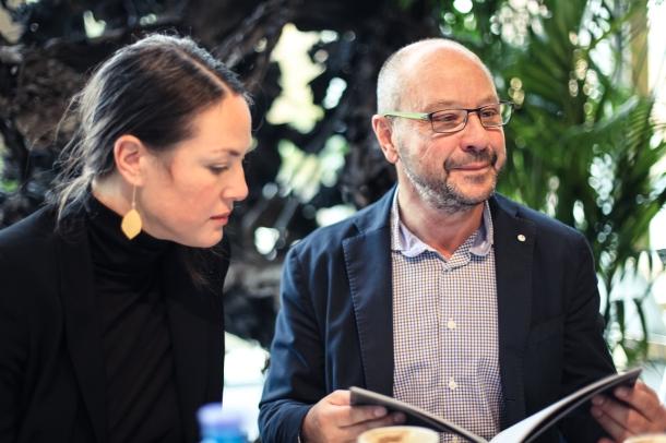 Julia Rust and Thomas Olbricht