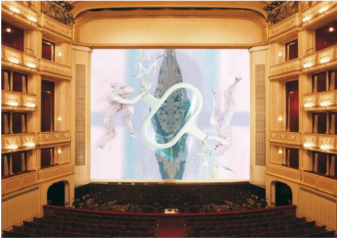Matthew Barney, Safety Curtain, 2000/2001 Photo: Museum in progress