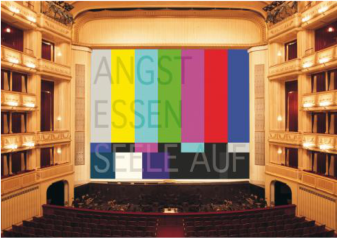"Rirkrit Tiravanija, ""Fear Eats the Soul"", Safety Curtain, 2006/2007 Photo: Museum in progress"