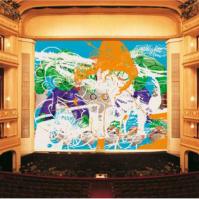 "Jeff Koons, ""Geisha"", Safety Curtain, 2007/2008 Photo: Museum in progress"