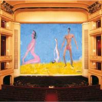 """Franz West, """"Drei – Vom Vorgang ins Temperament"""", Safety Curtain, 2009/2010 Photo: Museum in progress"""