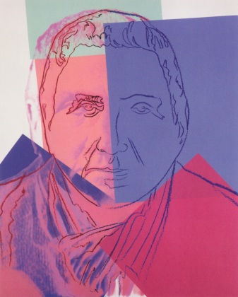 Gertrude Stein, Collection of the Blavatnik Family. Photograph courtesy of Ronald Feldman Fine Arts, New York
