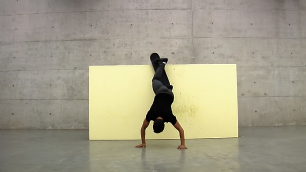 Minimal Vandalism, 2013 HD Video   3 min. 49 sec. In collaboration with Kilian Martin and Brett Novak