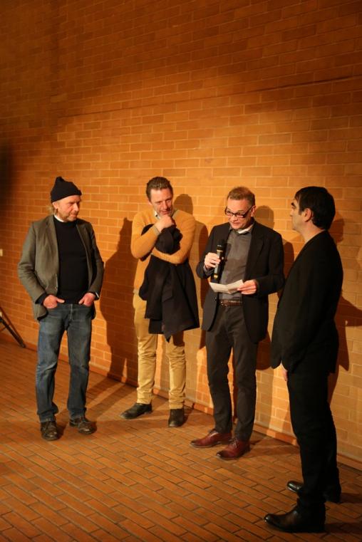 Das Wunder des Lebens. Jos de Gruyter & Harald Thys. Opening © Kunsthalle Wien, 2014
