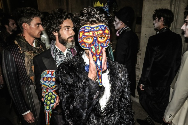 Etro and Magik Masks by Constanza Cavalli-Etro