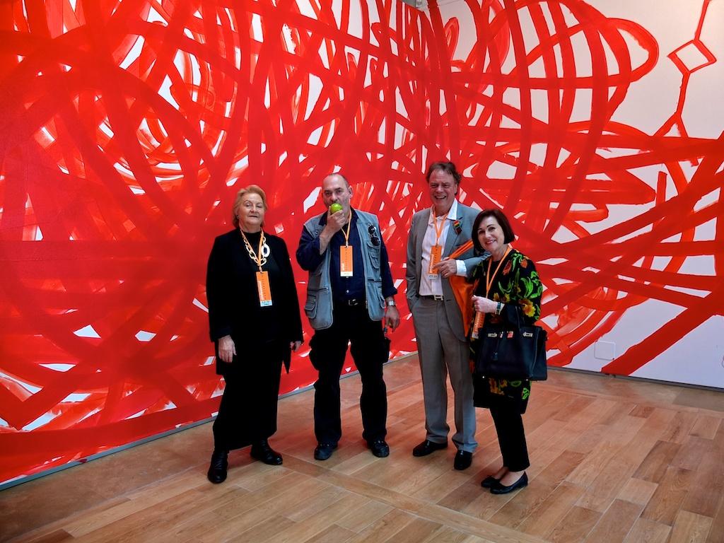From the left: Ursula Krinzinger, Otto Zitke, Thomas P. and Ingrid Jochheim