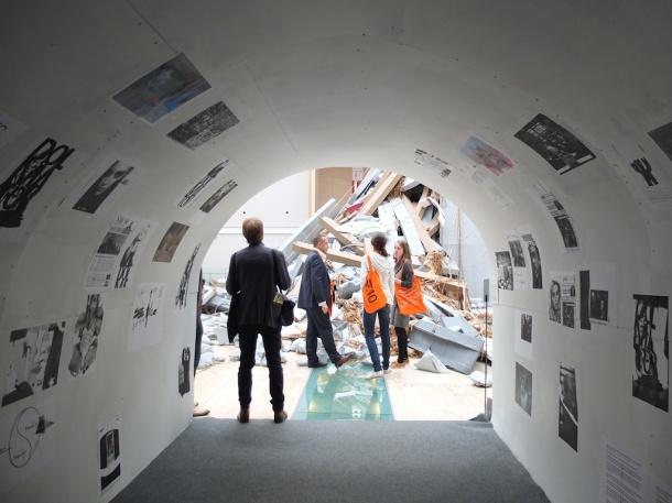 Erik van Lieshout, Installation view, 2014. Works on paper.