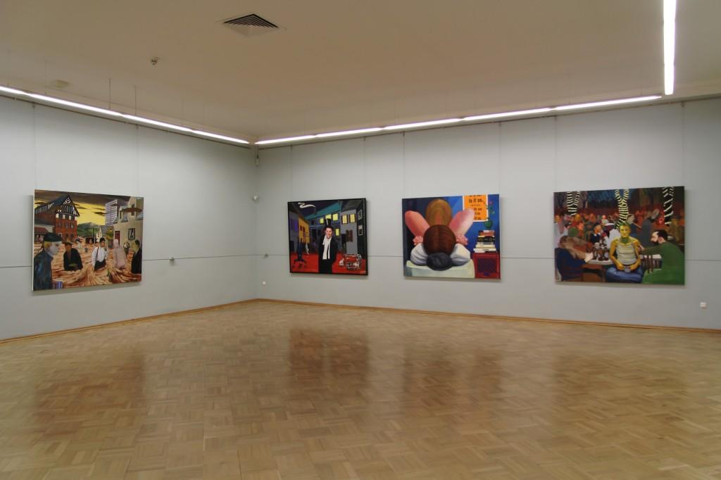 Nicole Eisenman, installation view, MANIFESTA 10