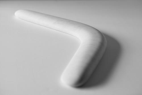 Stefan Sava, Boomerang, 2013, Sculpture, 50 x 40 x 3 cm