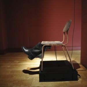 Andres Breze, Leg Swinger, 2012, Sculpture