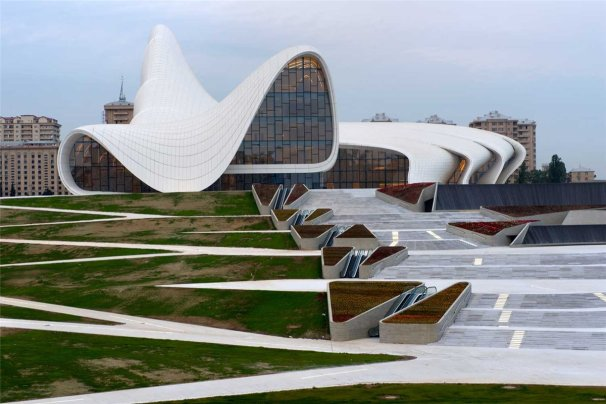 Heydar Aliyev Centre, Photo: http://www.architectureadmirers.com