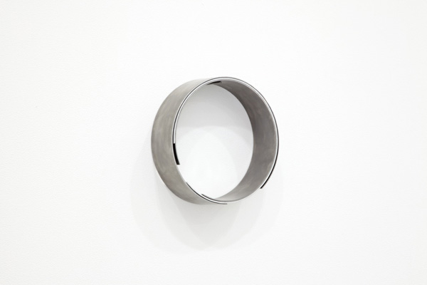 untitled (loccc), 2014, steel, aluminium, 22 x 7 cm
