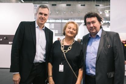 Christoph Thun-Hohenstein, Ursula Krinzinger, Roman Fuchs © VIENNAFAIR / Jakob Polacsek