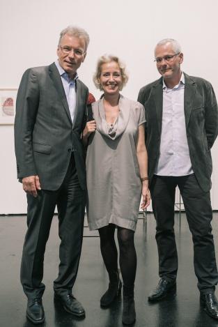 Wolfgang Haar, Gabriele Schor, Gottfried Ecker © VIENNAFAIR / Jakob Polacsek