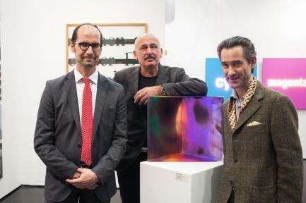 Peter Bogner, Hannes Mlenek, Johannes Deutsch © VIENNAFAIR / Jakob Polacsek