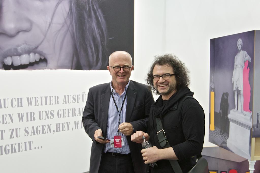 Ernst Hilger, Daryoush Asgar, Galerie Ernst Hilger, Vienna, Austria