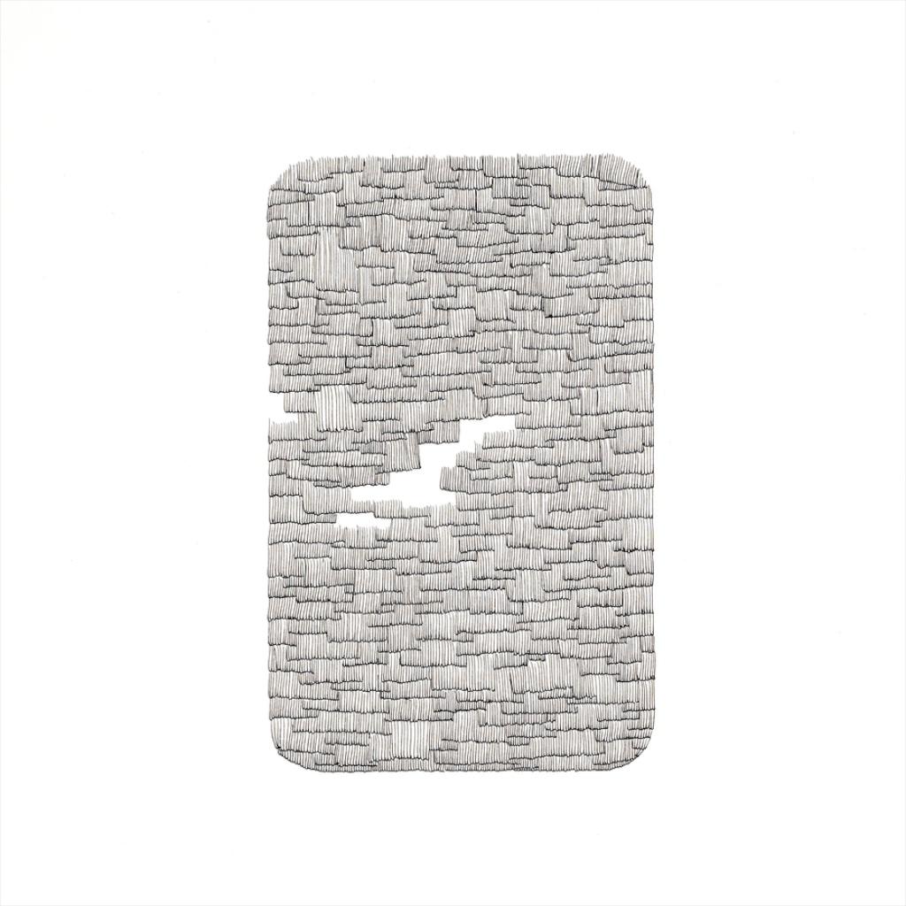 Waqas Khan, The storysteller, 2015 Tinte auf Papier, 35 x 26 cm. © Galerie Krinzinger