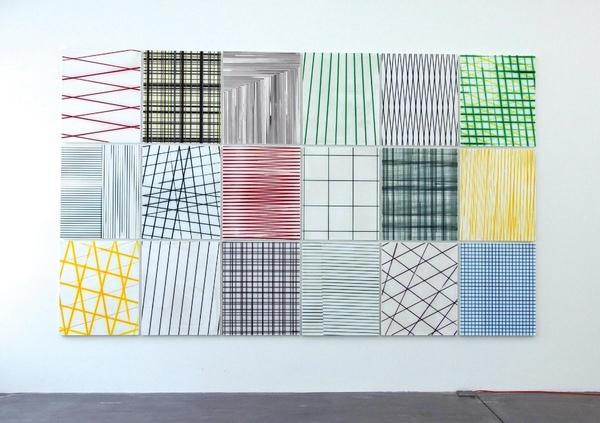 Thomas Baumann  Common Infinite / Painting Common Infinite / Painting 2014 - 2015 Acryl auf Leinwand je 120 x 100 cm