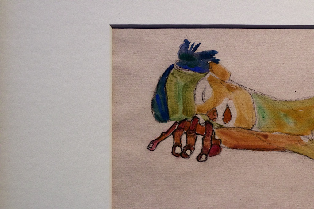Egon Schiele| Tracey Emin | Leopold museum , Photo: Kristina Kulakova