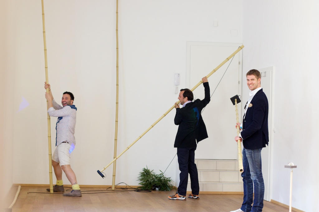 Salvatore Viviano, Max Lust, Lukas Bayerl, Photo: Kristina Kulakova