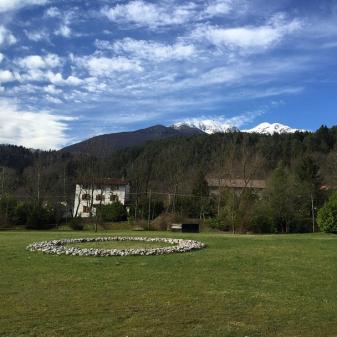 #sculpture garden of #egidiomarzona in #verzegnis