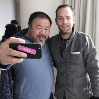 Rare Earth Co-Curator, Nadim Samman catches up with Aiweiwei