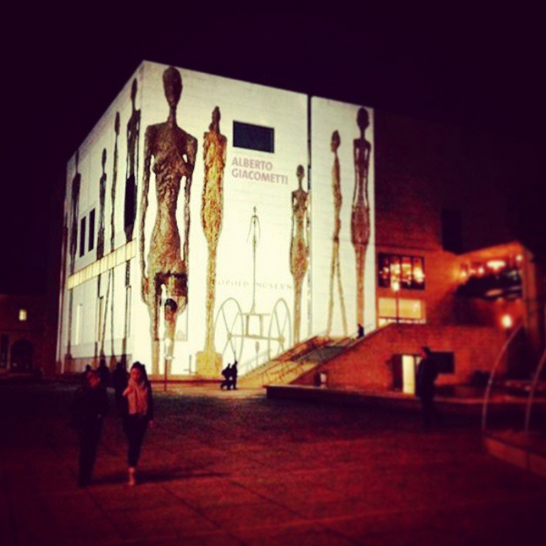 Giacometti at Leopold Museum