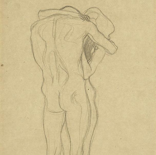 """""""Diesen Kuss der ganzen Welt"""" by Gustav #Klimt /"""