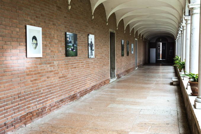Aram Jibilian Installation view, Mekhitarist Monastery of San Lazzaro degli Armeni, Venice Courtesy the artists © Piero Demo