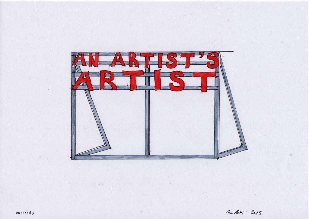 Marko Lulic Ohne Titel / Untitled, 2015 20x30cm Courtesy Gabriele Senn Galerie und der Künstler / Gabriele Senn Gallery and the artist